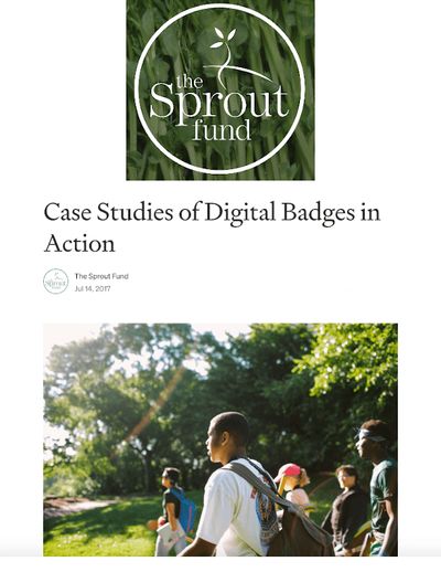 Case Studies of Digital Badges in Action image