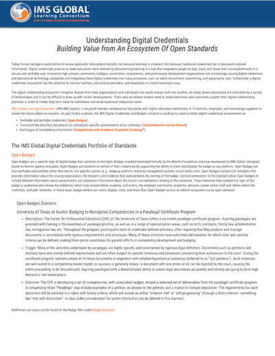 Understanding Digital Credentials Building Value from An Ecosystem Of Open Standards image