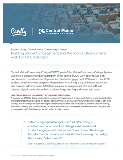Building Student Engagement and Workforce Development with Digital Credentials image