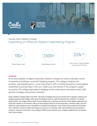 Expanding an Effective Digital Credentialing Program image