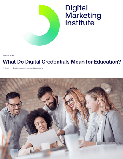 What Do Digital Credentials Mean for Education? image