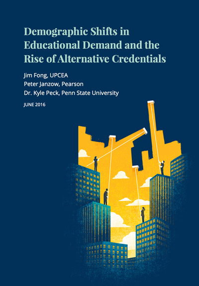 Demographic Shifts in Educational Demand and the Rise of Alternative Credentials image